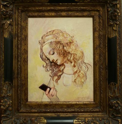 Da Vinci Checking Email